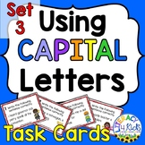 Capitalization Task Cards Set 3