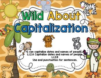 Capitalization- Wild About Capitalization