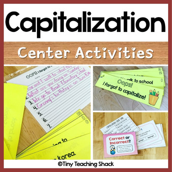 Capitalization Activities