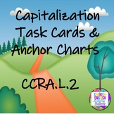 Capitalization Task Cards & Anchor Charts