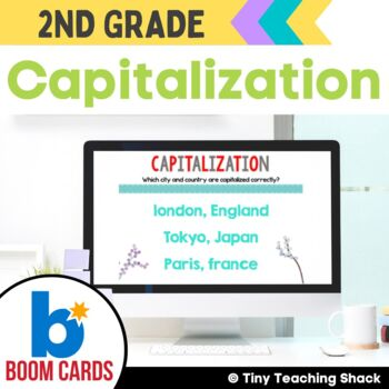 Capitalization Boom Cards Distance Learning
