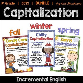 Capitalization Bundle {Common Core Aligned}