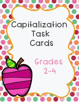 Capitalization Cards