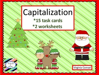 Capitalization Center---Christmas Theme