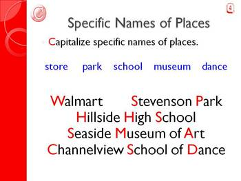 Capitalization Counts PowerPoint & Assessment