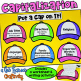 Capitalization Craftivity and Worksheet