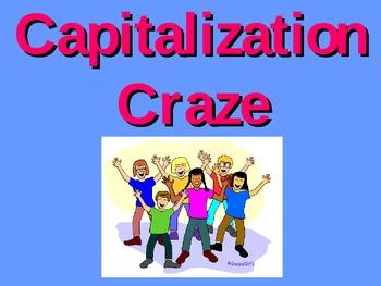 Capitalization Craze