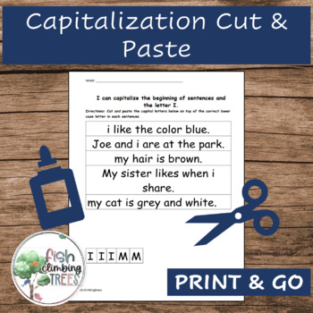 Capitalization Cut and Paste