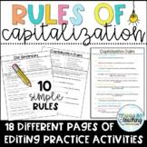 Capitalization Editing