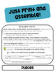 Capitalization Rules Flip Book and Practice Puzzles