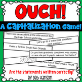 Capitalization Game: Analyze the sentences for capitalization errors.