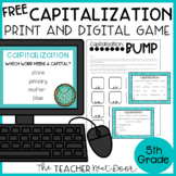 Capitalization Game | Capitalization Center | Capitalization Activities