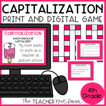 Capitalization Game | Capitalization Center | Capitalization Activity