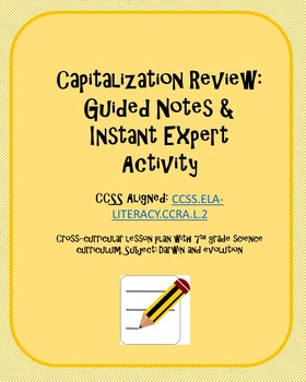 Capitalization: Guided Notes and Instant Expert Activity