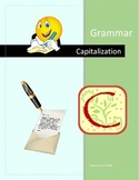 Capitalization Lessons and Practice with QR Codes - Self C
