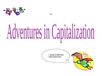Capitalization Power Point Tutorial and Practice
