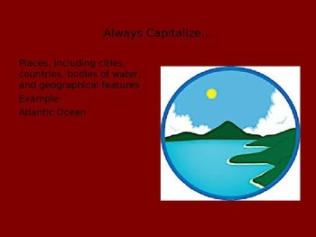Capitalization / Proper Nouns PowerPoint