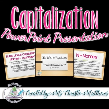Capitalization PowerPoint Presentation - Canadian Content