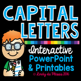 Capitalization PowerPoint and Worksheets for 2nd, 3rd, and 4th Grade