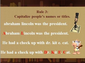Capitalization Powerpoint- Free