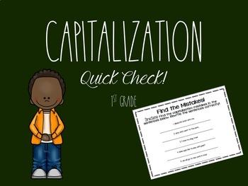 Capitalization Practice