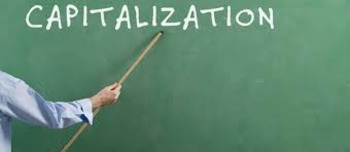 Capitalization Practice Exercises and Test