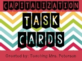 Capitalization Practice Task Cards