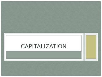 Capitalization Presentation