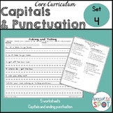 Core Curriculum Capitals and Punctuation Set 4