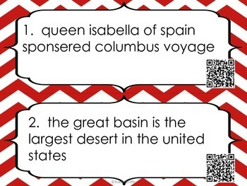 Capitalization & Punctuation Task Cards w/QR code option