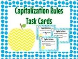 Capitalization Rule Task Cards
