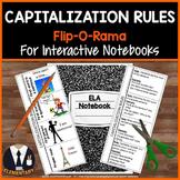 Capitalization Rules Interactive Notebook Flip-O-Rama