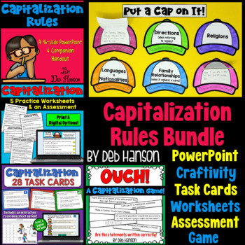 Capitalization Rules: A Bundle of Activities