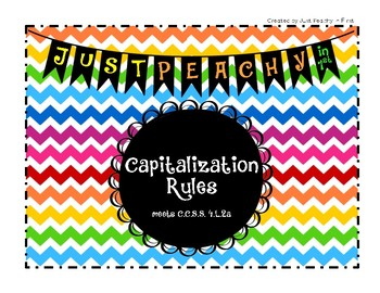 Capitalization Rules, Activities, and Assessment