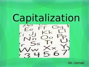 Capitalization Rules PPT