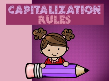 Capitalization Rules (PowerPoint)
