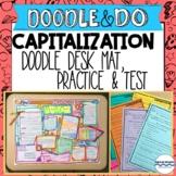 Capitalization Rules, Practice, and Quiz with Capitalizati