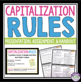 CAPITALIZATION PRESENTATION AND PRACTICE ASSIGNMENT
