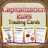 Capitalization Rules Trading Cards