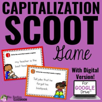 Capitalization SCOOT Game