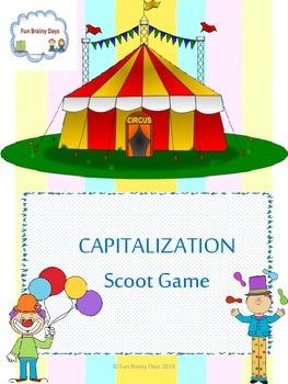 Capitalization Task Card