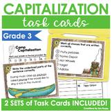 Capitalization Task Cards 2 Sets