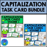 Capitalization Practice Task Cards Bundle