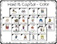 Capitalization Task Cards for Kindergarten with Anchor Cha