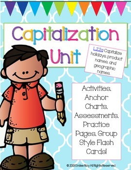 Capitalization Unit - L2.2.a - {Common Core Aligned}