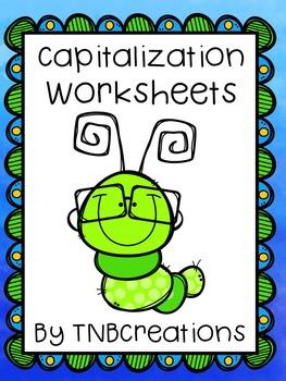 Capitalization Worksheets