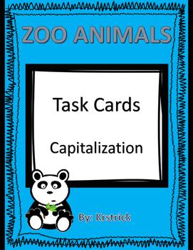 Capitalization: Zoo Animals