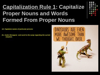 Capitalization and Commas PowerPoint