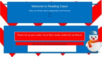 Capitalization and Pronouns *Aligns with K12 and Study Island Curriculum
