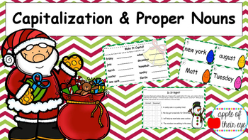 Capitalization and Proper Nouns (Holiday)